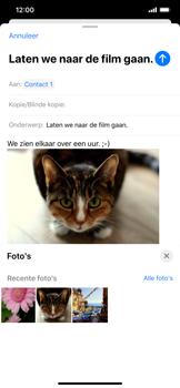Apple iphone-11-model-a2221 - E-mail - Bericht met attachment versturen - Stap 15