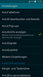 Samsung Galaxy Alpha - Anrufe - Anrufe blockieren - 5 / 13