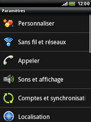 HTC A3333 Wildfire - Internet - configuration manuelle - Étape 5