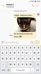 Samsung Galaxy J3 (2017) - Contact, Appels, SMS/MMS - Envoyer un MMS - Étape 20