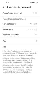 Huawei P40 Lite 5G - Internet et connexion - Partager votre connexion en Wi-Fi - Étape 7