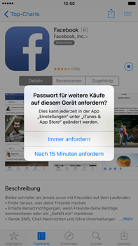 Apple iPhone 6 Plus - Apps - Konto anlegen und einrichten - 0 / 0