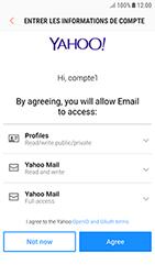 Samsung Galaxy J3 (2017) - E-mail - Configuration manuelle (yahoo) - Étape 9