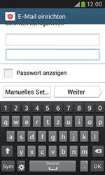 Samsung I9060 Galaxy Grand Neo - E-Mail - Konto einrichten - Schritt 6
