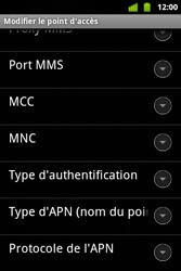 Alcatel OT-983 - MMS - Configuration manuelle - Étape 14