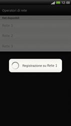 HTC One S - Rete - Selezione manuale della rete - Fase 10