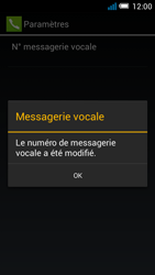 Alcatel OT-5036X Pop C5 - Messagerie vocale - configuration manuelle - Étape 12