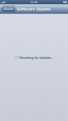 Apple iPhone 5 - Software - Installing software updates - Step 7