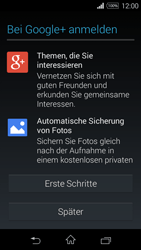 Sony Xperia E3 - Apps - Konto anlegen und einrichten - 21 / 25