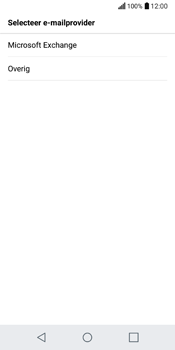 LG Q6 (M700) - E-mail - Account instellen (IMAP zonder SMTP-verificatie) - Stap 6