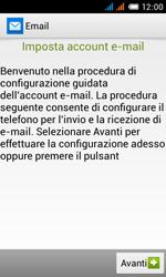Alcatel One Touch Pop C3 - E-mail - configurazione manuale - Fase 9