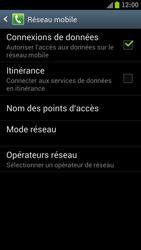 Samsung Galaxy S III LTE - Internet et roaming de données - Comment vérifier que la connexion des données est activée - Étape 7
