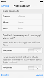Apple iPhone 5s - Applicazioni - Configurazione del negozio applicazioni - Fase 18