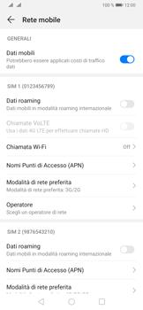 Huawei P30 - Rete - Come attivare la connessione di rete 4G - Fase 5
