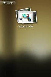 Samsung S5660 Galaxy Gio - E-mail - Sending emails - Step 10