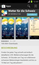 Samsung Galaxy S II - Apps - Installieren von Apps - Schritt 14