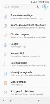 Samsung Galaxy A6 - Sécuriser votre mobile - Personnaliser le code PIN de votre carte SIM - Étape 4