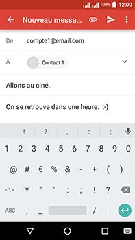Acer Liquid Zest 4G Plus - E-mail - envoyer un e-mail - Étape 8