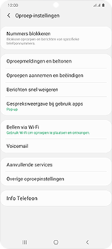 Samsung Galaxy S20 Ultra 5G Dual SIM eSIM SM-G988B - Voicemail - Handmatig instellen - Stap 6