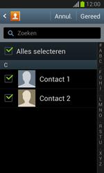 Samsung S7390 Galaxy Trend Lite - Contacten en data - Contacten kopiëren van toestel naar SIM - Stap 8