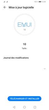 Huawei Y6P - Aller plus loin - Mettre à jour le logiciel interne de votre mobile - Étape 7