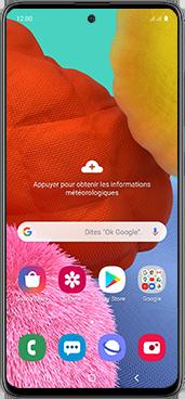 Samsung Galaxy A51 - Téléphone mobile - Comment effectuer une réinitialisation logicielle - Étape 2
