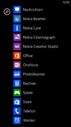 Nokia Lumia 1320 - Apps - Einrichten des App Stores - Schritt 3