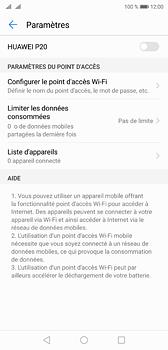 Huawei P20 - Internet et connexion - Partager votre connexion en Wi-Fi - Étape 9