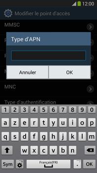 Samsung N9005 Galaxy Note III LTE - MMS - configuration manuelle - Étape 14