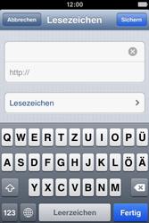 Apple iPhone 4S - Internet und Datenroaming - Verwenden des Internets - Schritt 12