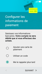 Huawei Y5 - Premiers pas - Créer un compte - Étape 17