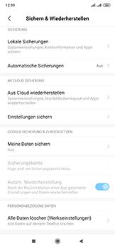 Xiaomi Mi Mix 3 5G - Gerät - Zurücksetzen auf die Werkseinstellungen - Schritt 5