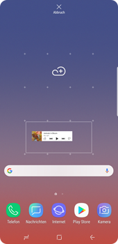 Samsung Galaxy Note9 - Startanleitung - Installieren von Widgets und Apps auf der Startseite - Schritt 6