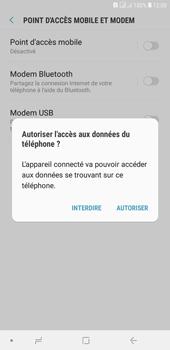 Samsung Galaxy J4+ - Internet et connexion - Utiliser le mode modem par USB - Étape 7