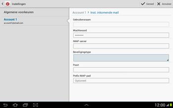Samsung P7500 Galaxy Tab 10-1 - E-mail - Instellingen KPNMail controleren - Stap 9