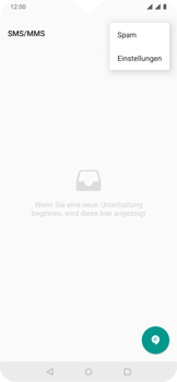 OnePlus 6T - Android Pie - SMS - Manuelle Konfiguration - Schritt 5