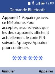 Alcatel 3088X - Photos, vidéos, musique - Envoyer une photo via Bluetooth - Étape 13