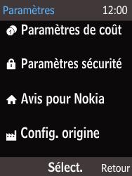 Nokia 225 - Téléphone mobile - Réinitialisation de la configuration d