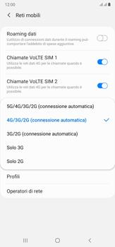 Samsung Galaxy Note 20 Ultra 5G - Rete - Come attivare la connessione di rete 5G - Fase 7