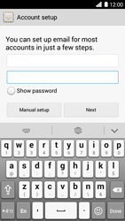 Huawei Ascend G6 - Email - Manual configuration POP3 with SMTP verification - Step 7