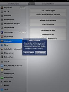 Apple iPad mini - Fehlerbehebung - Handy zurücksetzen - Schritt 9