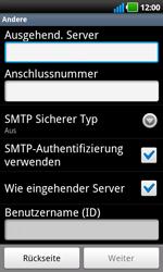 LG P970 Optimus Black - E-Mail - Konto einrichten - Schritt 9