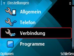 Nokia E71 - MMS - Manuelle Konfiguration - Schritt 6