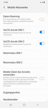 Samsung Galaxy S20 5G - Internet und Datenroaming - Manuelle Konfiguration - Schritt 8