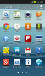 Samsung Galaxy Express - E-mail - Manual configuration - Step 3