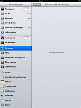 Apple iPad mini - Software - Installieren von Software-Updates - Schritt 7