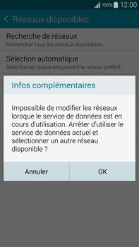 Samsung Galaxy Note 4 - Réseau - Sélection manuelle du réseau - Étape 10