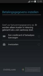 Samsung G850F Galaxy Alpha - Applicaties - Account instellen - Stap 20