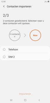 Samsung galaxy-j4-plus-dual-sim-sm-j415fn-android-pie - Contacten en data - Contacten kopiëren van SIM naar toestel - Stap 11