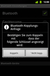 Alcatel OT-983 - Bluetooth - Verbinden von Geräten - Schritt 9
